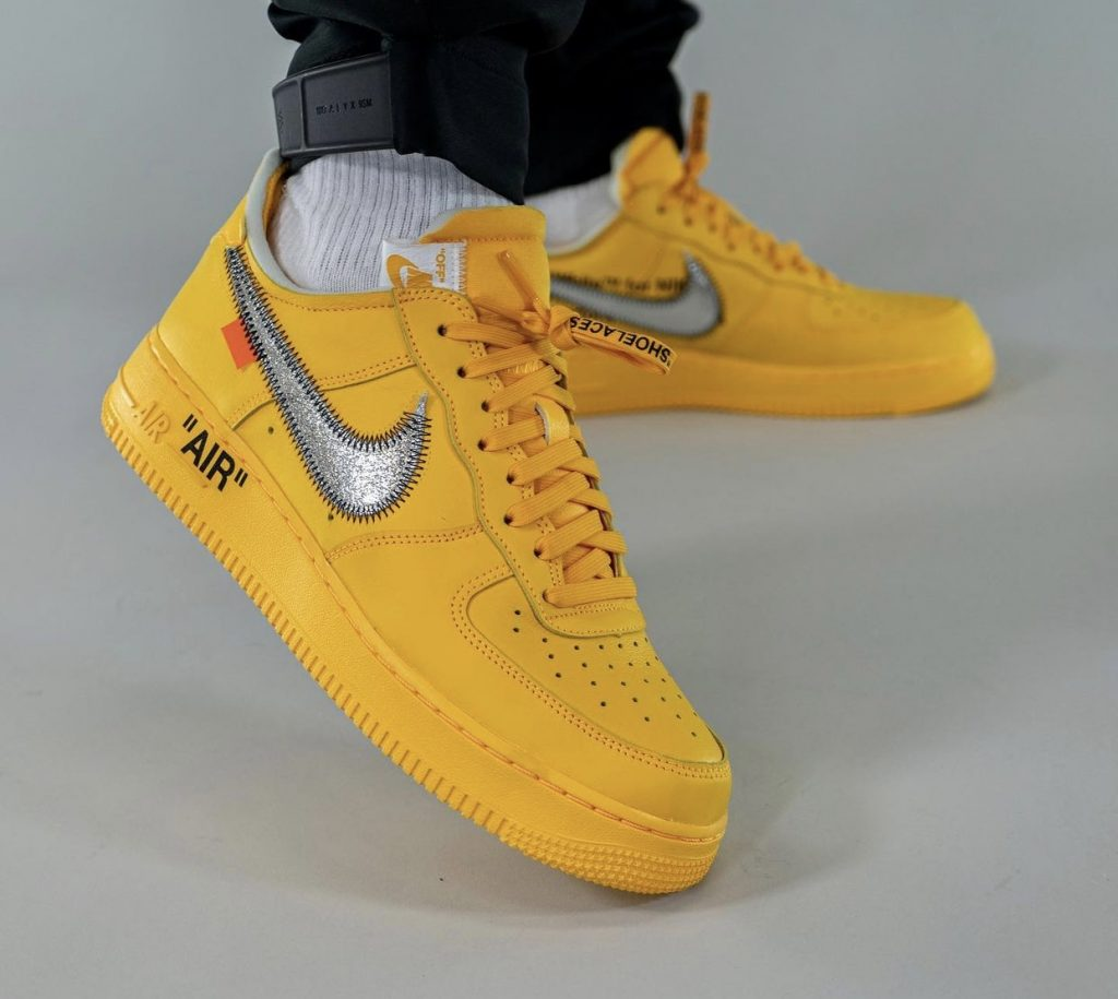 Off-White-x-Nike-Air-Force-1-Low-University-Gold-DD1876-700-Release-Date-On-Feet-5