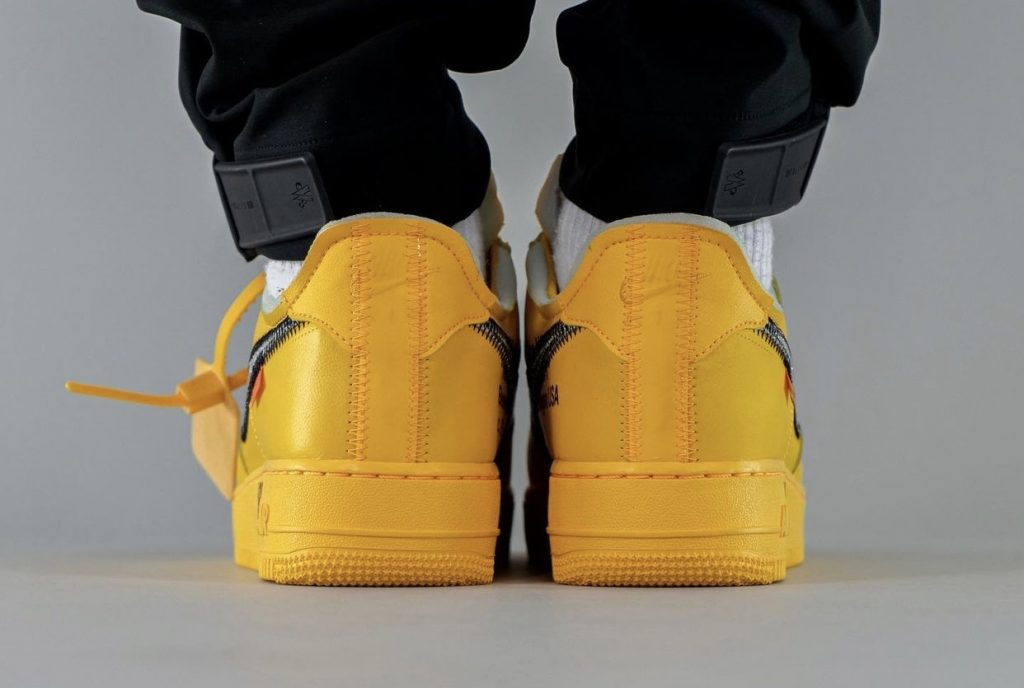 Off-White-x-Nike-Air-Force-1-Low-University-Gold-DD1876-700-Release-Date-On-Feet-9