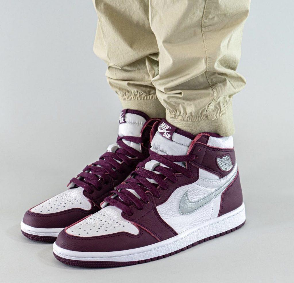 Air-Jordan-1-Bordeaux-555088-611-Release-Date-On-Foot-1