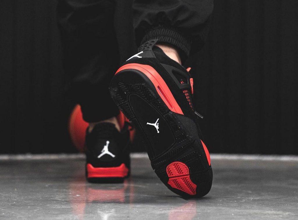 Air-Jordan-4-Red-Thunder-CT8527-016-On-Feet-8