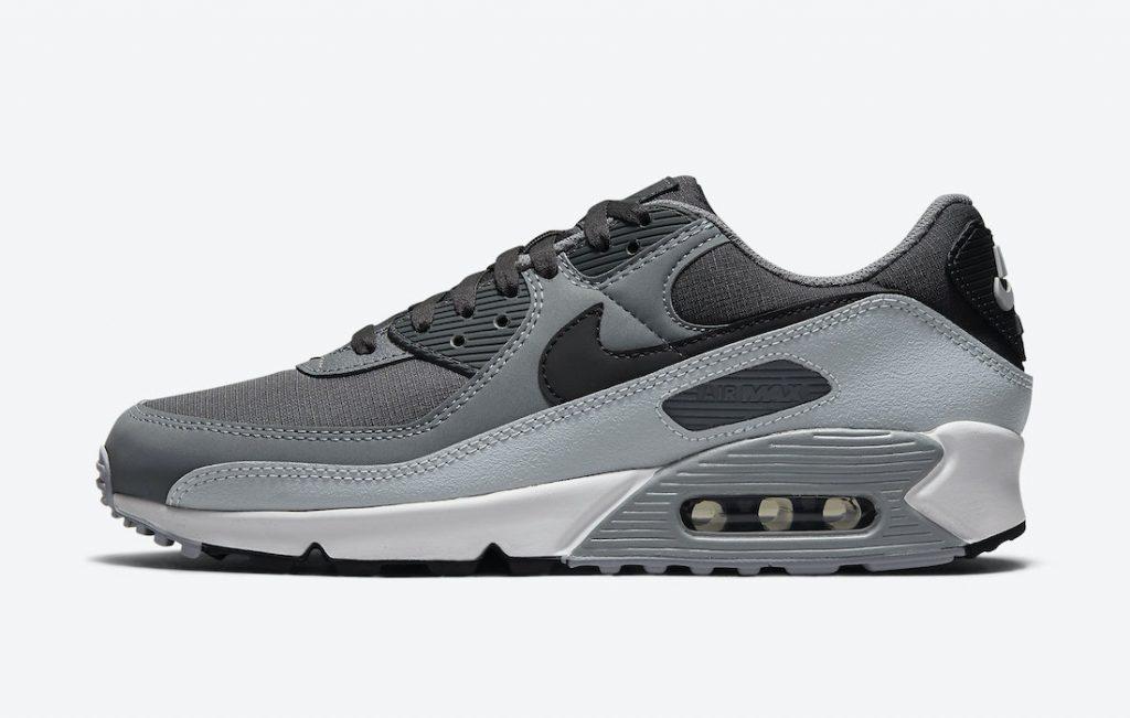 Nike-Air-Max-90-Cool-Grey-Anthracite-Black-Dark-Grey-Cool-Grey-DC9388-003-Release-Date