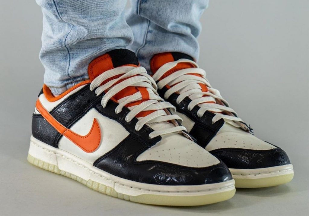 Nike-Dunk-Low-Halloween-Starfish-DD0357-100-Release-Date-On-Feet-1