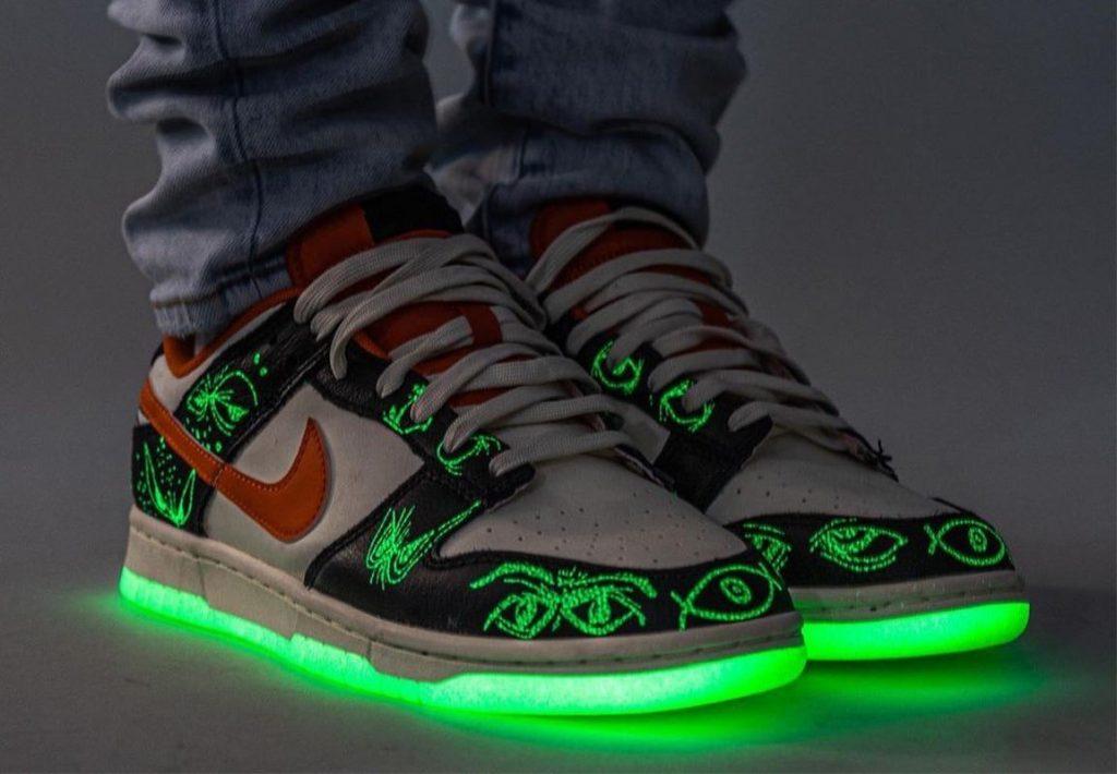 Nike-Dunk-Low-Halloween-Starfish-DD0357-100-Release-Date-On-Feet