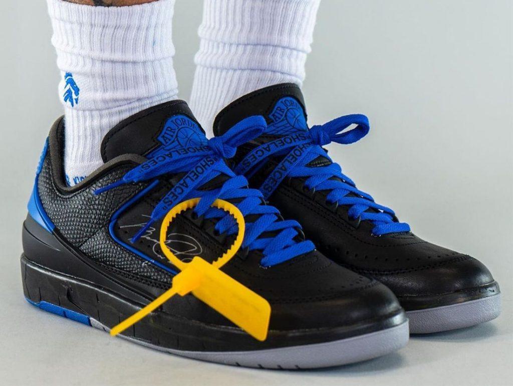 Off-White-Air-Jordan-2-Low-Black-Blue-DJ4375-004-Release-Date-On-Feet-1