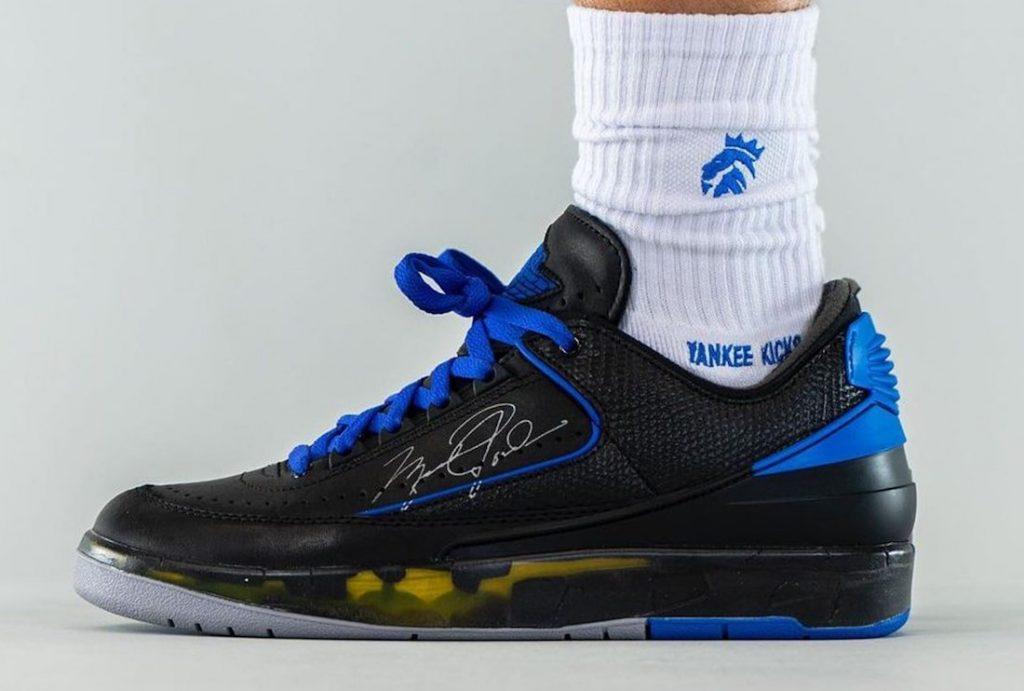 Off-White-Air-Jordan-2-Low-Black-Blue-DJ4375-004-Release-Date-On-Feet-2