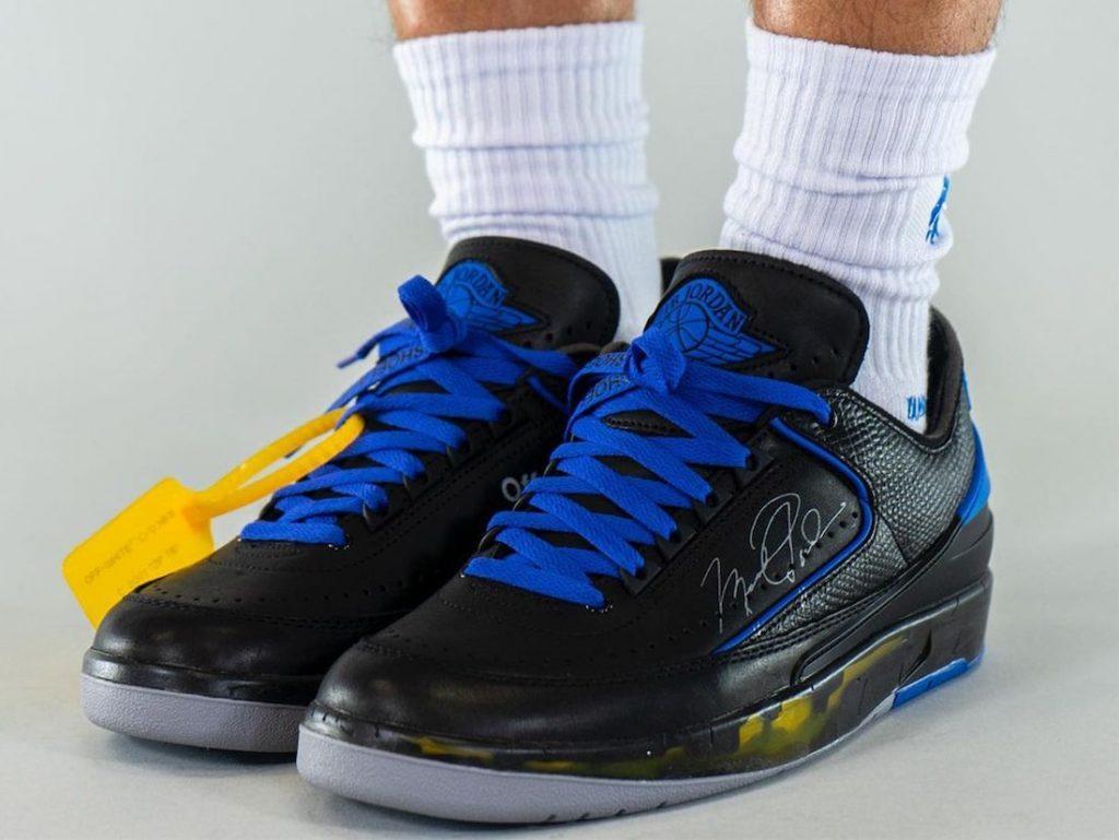Off-White-Air-Jordan-2-Low-Black-Blue-DJ4375-004-Release-Date-On-Feet-3