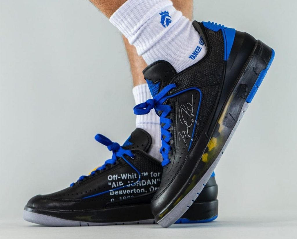 Off-White-Air-Jordan-2-Low-Black-Blue-DJ4375-004-Release-Date-On-Feet-5