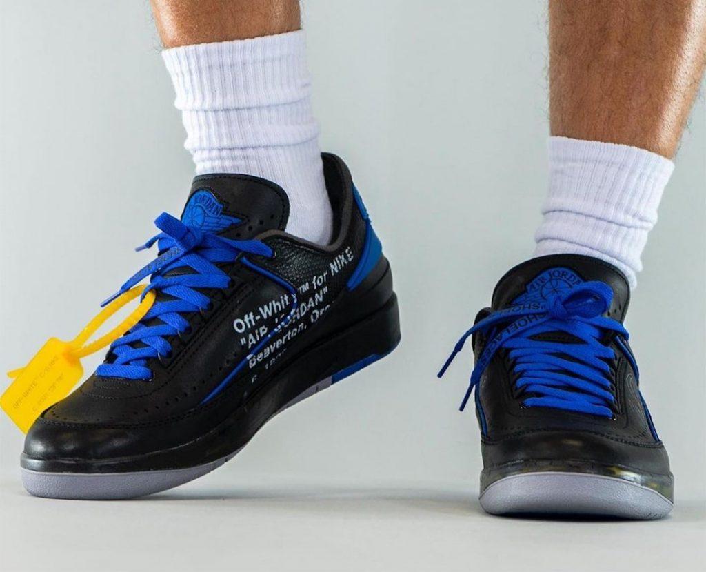 Off-White-Air-Jordan-2-Low-Black-Blue-DJ4375-004-Release-Date-On-Feet-6