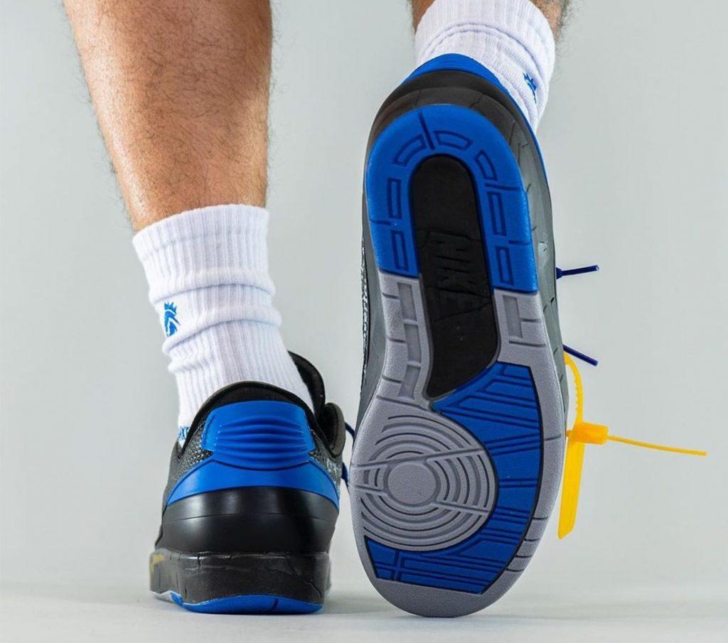 Off-White-Air-Jordan-2-Low-Black-Blue-DJ4375-004-Release-Date-On-Feet-7