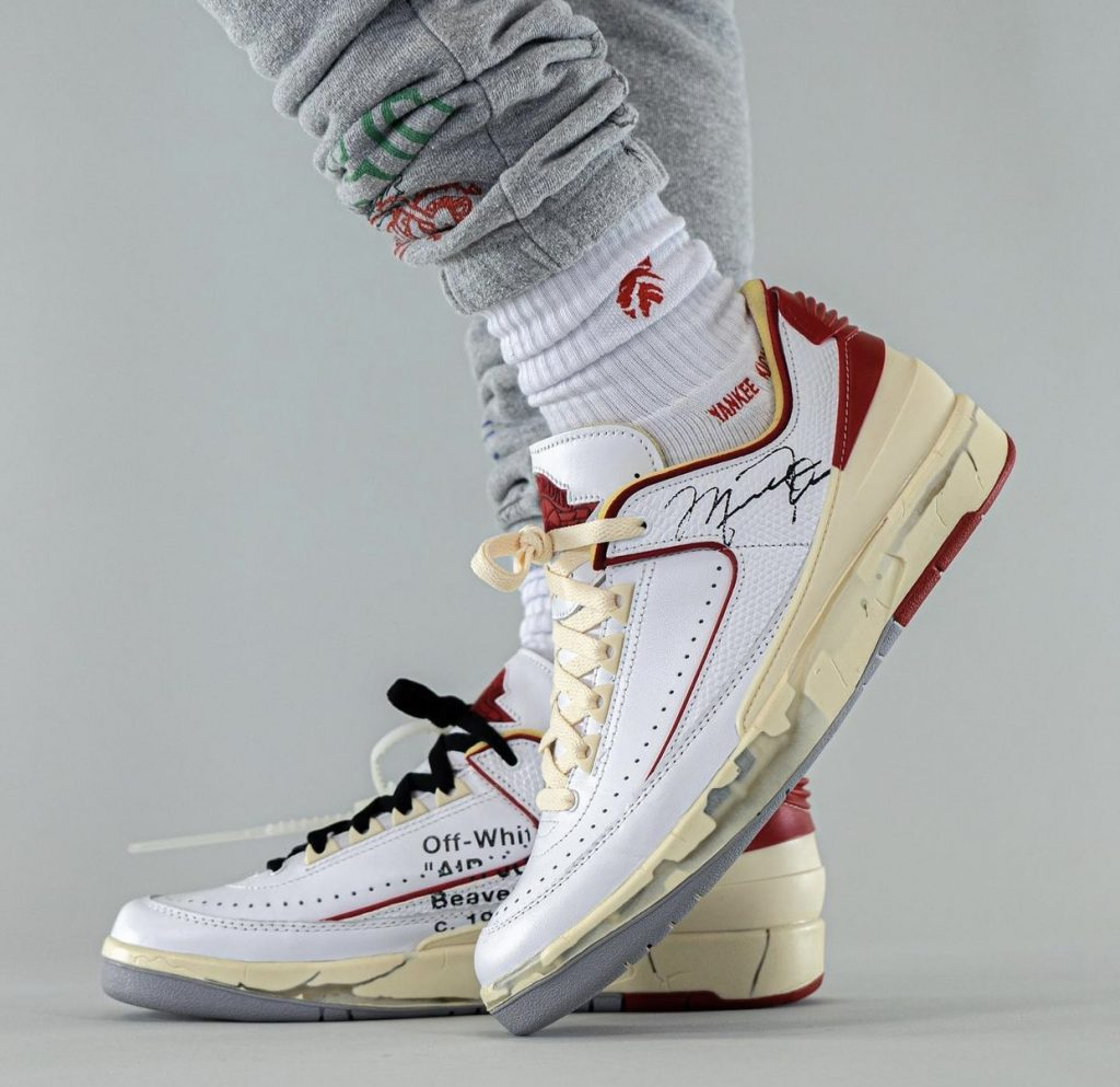 Off-White-Air-Jordan-2-Low-White-Red-DJ4375-106-Release-Date-On-Feet-4