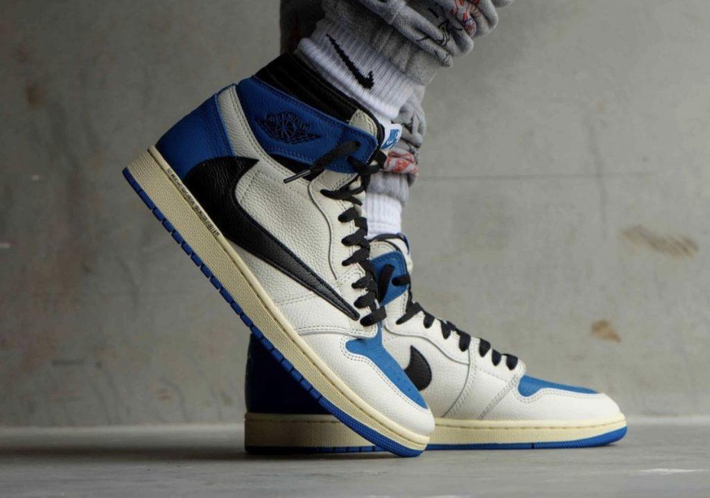 Travis-Scott-Fragment-Air-Jordan-1-High-OG-Military-Blue-On-Feet