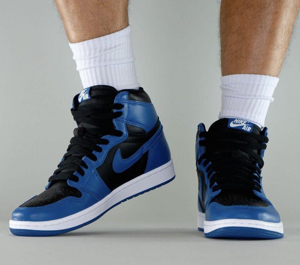 Air-Jordan-1-Dark-Marina-Blue-555088-404-Release-Date-On-Feet-6-1
