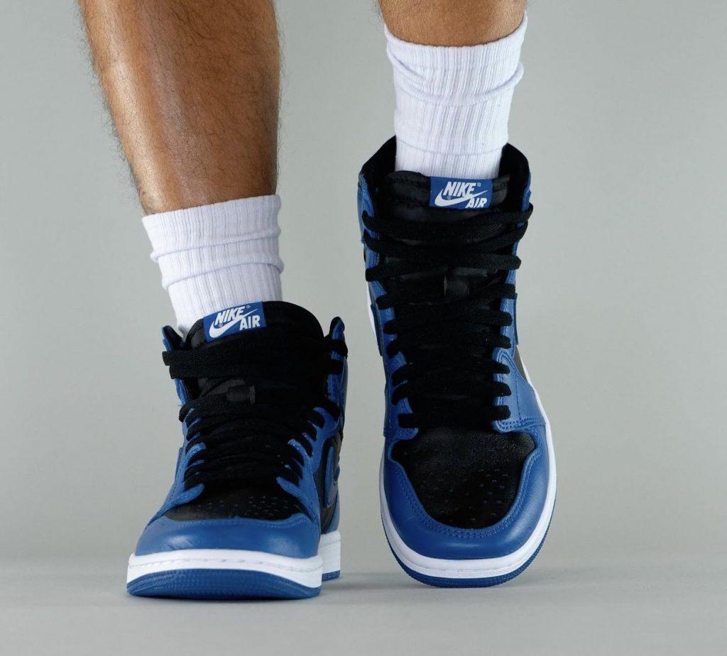 Air-Jordan-1-Dark-Marina-Blue-555088-404-Release-Date-On-Feet-7-1