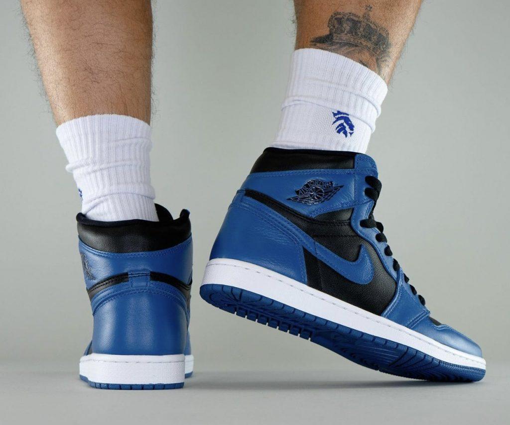 Air-Jordan-1-Dark-Marina-Blue-555088-404-Release-Date-On-Feet-8-1