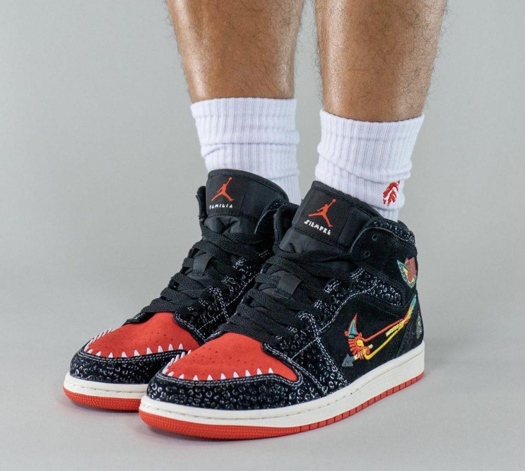 Air-Jordan-1-Mid-Siempre-Familia-2021-DN4904-001-Release-Date-On-Feet