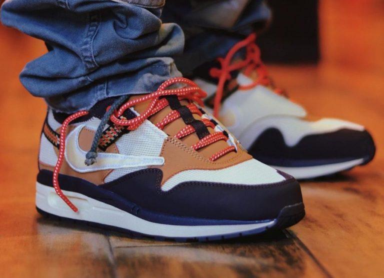 Travis-Scott-Nike-Air-Max-1-Baroque-Brown-On-Feet-1-1068x773