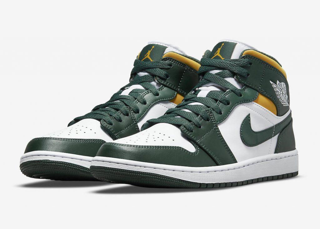 Air-Jordan-1-Mid-Green-Yellow-554724-371-Release-Date