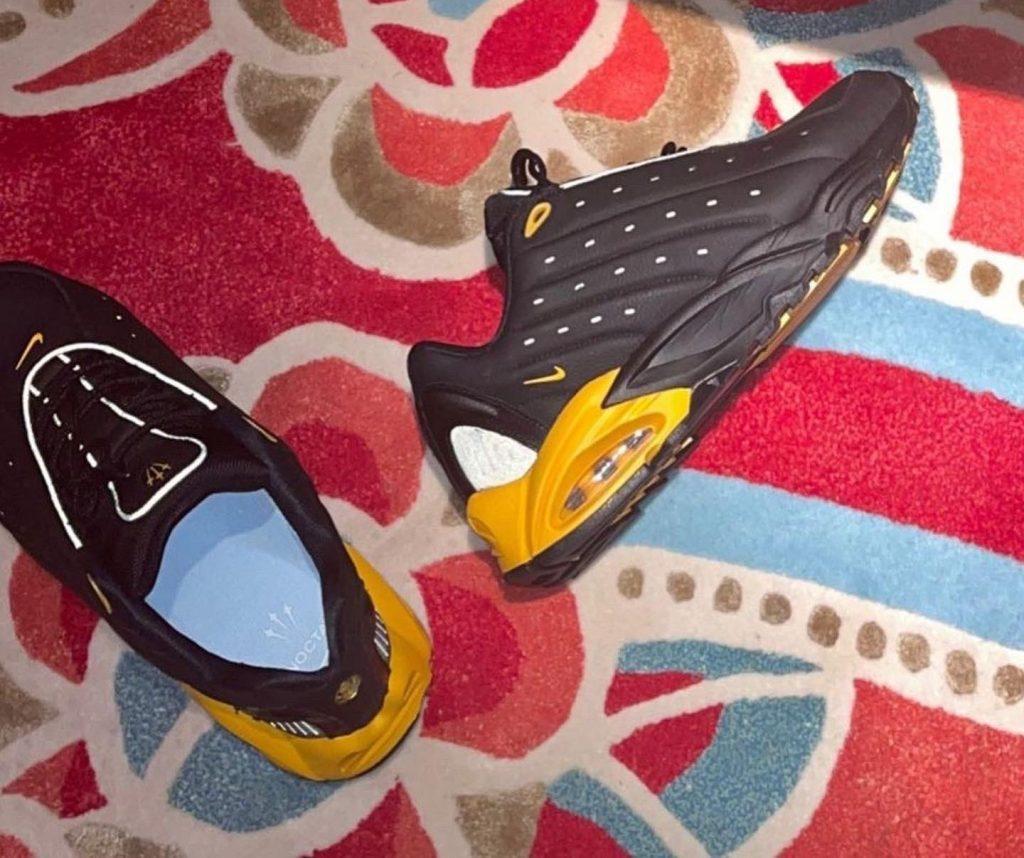 Drake-Nike-Hot-Step-Air-Black-Yellow