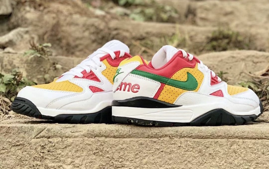 Supreme-Nike-Air-Cross-Trainer-3-Low-White-Pine-Green-University-Gold-Release-Date-1