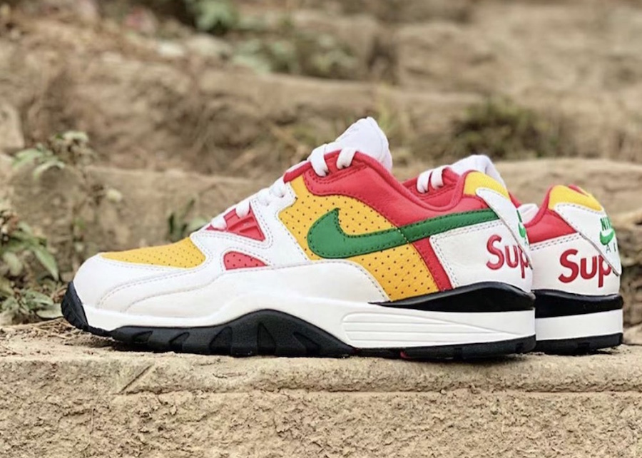Supreme-Nike-Air-Cross-Trainer-3-Low-White-Pine-Green-University-Gold-Release-Date